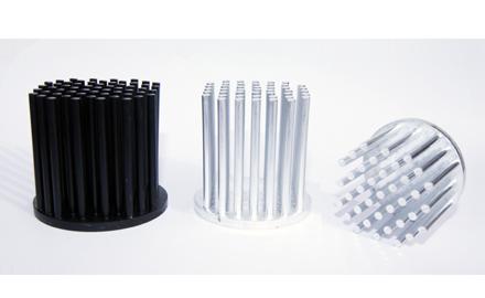 Pinbloc Heat Sinks 99.6% aluminium