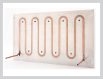 Custom embedded-tube-in-plate